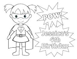 Girl Superhero Coloring Pages Superhero Coloring Pages Boy And Girl