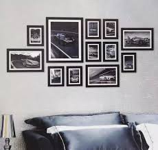 black picture frames wall. Collage Photo Frames Wall Black And White Picture