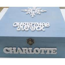 Plain Wooden Boxes To Decorate Look at this beautiful Christmas Eve box You could get one of our 58