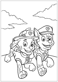 Luckily, this colorful sheet set featuring the popular paw patrol pups marshall, chase, everest and skye from my daughter loves her new paw patrol sheet set. Paw Patrol To Print Paw Patrol Kids Coloring Pages