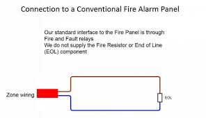 how to wire to a conventional or addressable fire panel ffe fire alarm system design pdf at Commercial Fire Alarm Diagram