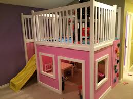 Diy Indoor Slide Playhouse Loft Bed Do It Yourself Home Projects From Ana White