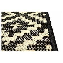 black and white diamond rug. outdoor rug - crinkle diamond black threshold™ and white i