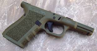 above this gen 4 glock 27 features a stip tex flat wrap bo job i e flattened front strap with stip tex wrapped around onto side panels and a