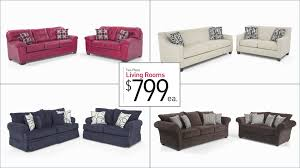 two piece living room sets for 799 bob39s discount furniture beautiful bobs living room sets