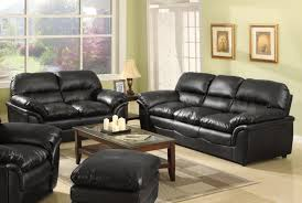 ... Living Room, Other Design Captivating Living Room Sectionals Couch With  Black Leather Sofa Complete With ...