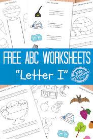 Letter I Worksheets Free Kids Printable