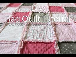 How to make a Rag Quilt Tutorial - YouTube &  Adamdwight.com
