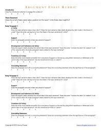argument essay writing teacher tools argument essay rubric