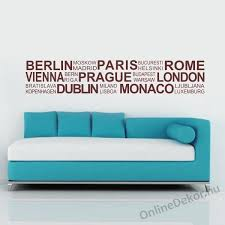 wall sticker wall tattoo wall decoration wall decal name texts city names 2007