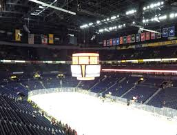 Bridgestone Arena Detailed Seating Chart Bridgestone Arena Section 221 Seat Views Seatgeek