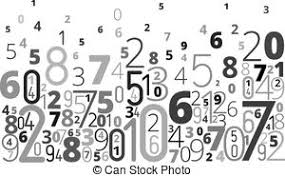 Image result for jumbled grid of numbers