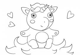 Home » unicorn coloring » cute baby unicorn coloring pages printable free. 41 Magical Unicorn Coloring Pages