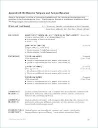 Student Resume Format From Mba Application Resume Objective