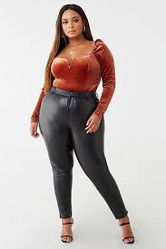 sa 5th avenue s closet or find the perfect look from millions of stylists fast and er protection forever 21 faux leather joggers