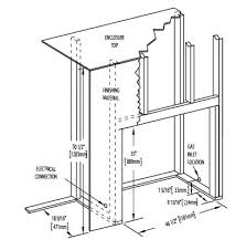 direct vent gas fireplace installation manual acent46 list specs acent46 specs asentb46 specs ascent 46 framing specs