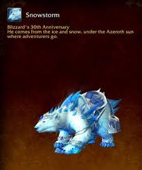 So im pretty sure it might not be legal to sell my blizzcon polar bear mount card and grunty pet cards. Snowstorm Bear Mount Has Some Awesome Animations And Can T Fly News Icy Veins