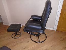 massage chair and footstool. solartronic leather massage chair \u0026 footstool and