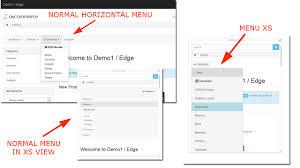 horiztal horizontal categories menu bs apps marketplace oscommerce