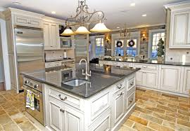 traditional kitchen lighting. Amusing Farmhouse Kitchen With White Ceiling Lighting And Traditional
