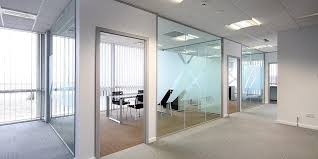 Office Glass Windows Commercial Glazing Glass Partitions Window