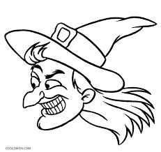 Witch Coloring Pages Witches Coloring Pages Witch Coloring Page Free