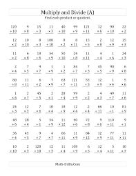 Multiplication And Division Worksheet Kindergarten Mixed Multiplication And Division Worksheets Free 11