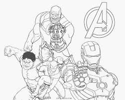 The coloring page of avengers endgame is an excellent product for drawing lovers. Avengers Coloring Pages Cool2bkids