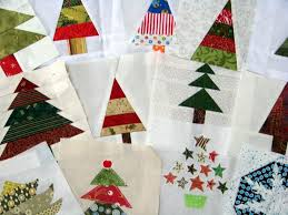 105 best modern christmas quilts images on Pinterest | Christmas ... & This is my latest block for the Around the World Quilting Bee. It is for  Brioni. She has asked for small trees that she will later make i. Adamdwight.com