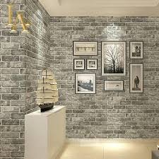 stick on brick wall white brick effect wallpaper home depot wallpapers bedroom ideas exterior grey and