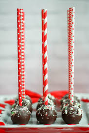 Chocolate Peppermint Cake Pops What Should I Make For