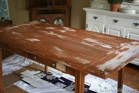 Furniture Makeover Weathered Driftwood Furniture Finish In My