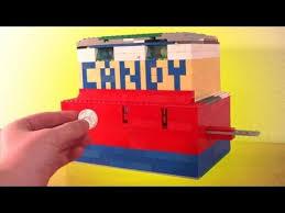 Lego Candy Vending Machine Classy A Lego Candy Machine YouTube