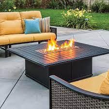 tropitone rectangular banchetto fire