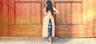 Kurta Designs To Wear With Jeans The Jeans And Kurti Combination Is Totally Evergreen
