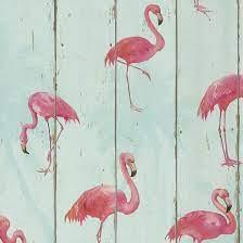 Rasch Barbara Becker Flamingo Wallpaper ...