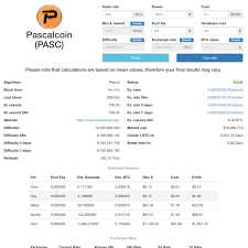 Huge Jump In Difficulty Reasons Pascalcoin