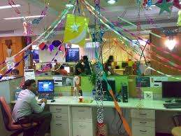 office party decoration ideas. Office:Stunning Halloween Pumpkin Decoration For Office Party With Ceiling Lighting And Colorful Hanging Ornament Ideas D