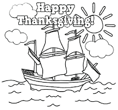 Happy Thanksgiving Printable Coloring Pages Houseofhelpccorg