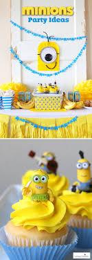 Minion Birthday Party Minions Party Ideas Despicable Me Birthday Homemade Minion Craft