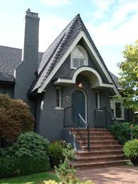 The Challenge Of Exterior Paint Colours Grey Houses Blue Grey - Farrow and ball exterior colours