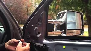 07-13 Tundra - Tow Mirror Install - YouTube