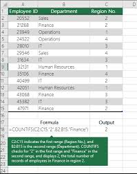 Finance Excel Functions Ways To Count Values In A Worksheet Office Support