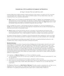 Format For An Executive Summary One Page Executive Summary Template New Example Format Co