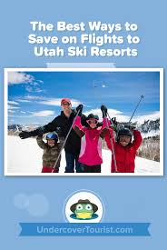 Utah Ski Resort Comparison Chart Ways To Save On Flights To Utah Ski Resorts