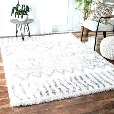 fur area rug gray faux rugs big white sheepskin fake