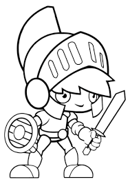 Cartoon Roman Soldier Coloring Page Free Printable Coloring Pages