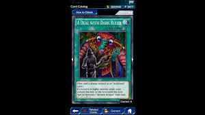 yugioh duel links a deal with dark ruler