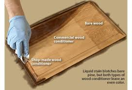 Stain does not penetrate wood