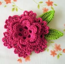 Free Crochet Flower Patterns Extraordinary 48 Adorable Free Crochet Flower Patterns Crochet Pinterest